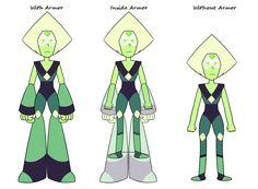 Steven Universe Peridot's Armor Theory by WillShackAttack
