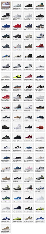 89 Nike & Jordan Brand Sneakers That Released in Europe for Week 12, 2017
