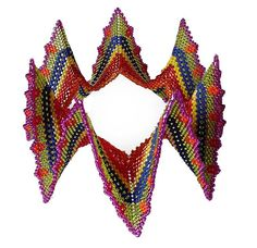 By Beadjangles - a Jalisco variant from Contemporary Geometric Beadwork by Kate McKinnon, designed by Cath Thomas