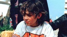 Valentino Rossi da bambino in minimoto, Foto Amato Ballante