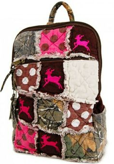 Pink Camouflage Hunting Clothing | pdcb pink deer camouflage backpack sporty girl small deer camo ...