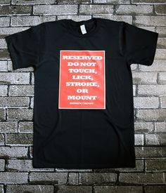 Reserved! Do not bother Funny Humor printed T-Shirts