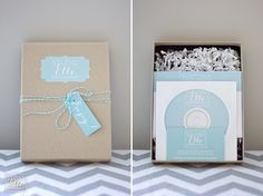 Simple twine makes this package!