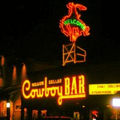 Jackson Hole, WY.  Danced in this bar to a live band!! Such fun!!