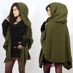 ''Danae'' cape, Khaki