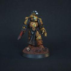 Miniaturas Warhammer 40k, Sons Of Horus, Imperial Fist, Space Marine, Miniatures, Inspiration, Marines, Gaming, Urban