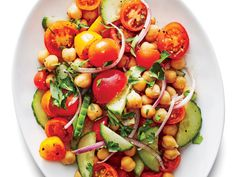 This fresh seasonal salad is ridiculously easy to put together and quite versatile. Serve our suggested amount as a side salad with grill...