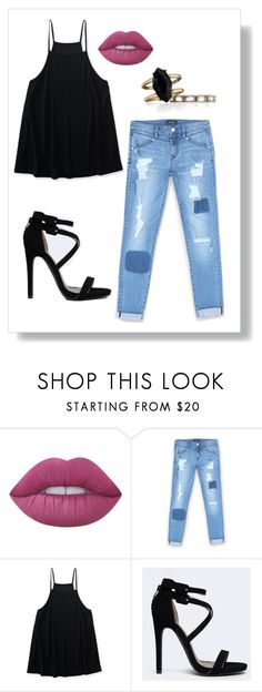 """""""K15S and TELL"""" by m-phil ❤ liked on Polyvore featuring Lime Crime, Bebe, Aéropostale, Qupid, Chloe + Isabel and contestentry"""