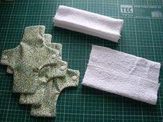 Princesa Livre: PASSO A PASSO ABSORVENTE ECOLÓGICO Flu Mask, Menstrual Pads, Quilting, Cloth Pads, Diy And Crafts, Creations, Towel, Sewing, Blog