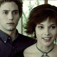 Alice & Jasper So awkward when you have sharper teeth than a person who played a vampire.