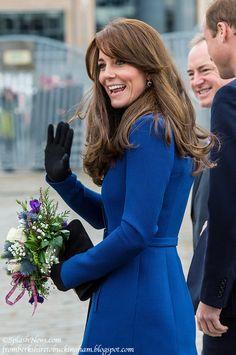 From Berkshire to Buckingham : Duchess Kate Visits Dundee In Bespoke Christopher Kane