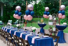 Bubbly, Bourbon, and BBQ Birthday Party — The Seasoned Southerner Gender Reveal Themes, Gender Reveal Balloons, Gender Reveal Party Decorations, Birthday Decorations, Gender Party, Baby Gender Reveal Party, Outdoor Dinner Parties, Birthday Bbq, Deco Originale