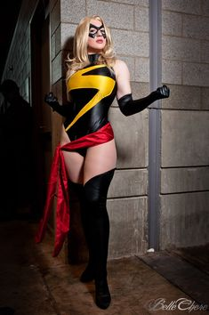 Belle Chere is Ms. Marvel
