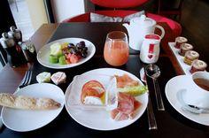 モリトールでいただいた朝食