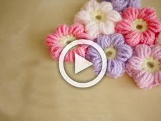 Hello everyone! Here is a video aboutHow to crochet a puff flower...