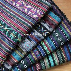 Thai handgewebter Stoff ethnischen Stoff Boho Bohemian Hippie