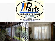 Cortinas, Persianas Box e Portas Sanfonadas. As Melhores Marcas, os Melhores Produtos. Agora fazemos também colocação de papel-de-parede. (42) 3623-7125 (42) 9817-0722 Rua Vicente Machado, 720 - Trianon - Guarapuava - Paraná