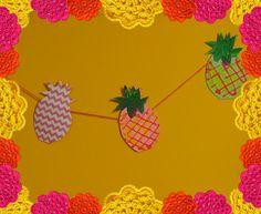 Een ananasslinger voor in je tuin!