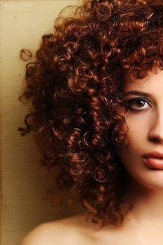 red curls