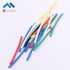140pcs 7 Colors 1.0mm Heat Shrink Tube Bag 20pcs each Retardant Polyolefins Wrap Sleeve Assorted Kit 1mm Heat Shrinkable Tube