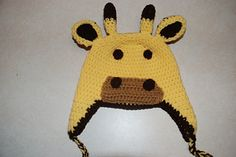 Ravelry: Giraffe Hat pattern by Amy Lehman