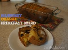 blueberry infused craisin orange breakfast bread