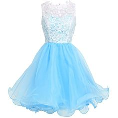 Fashion Plaza Princess Graduation Party Homecoming Dress D0250 ($50) ❤ liked on Polyvore
