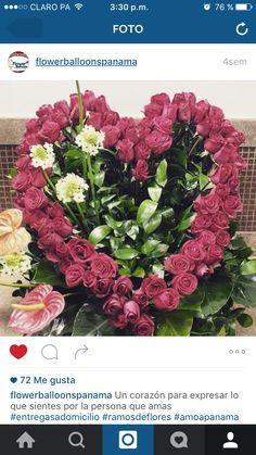 Hermoso corazón para este día tan anhelados por todos San Valentín  ama , quiere , vive ,sonríe .....