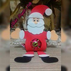 Porta bombom do Papai Noel.. ❤ 😍
