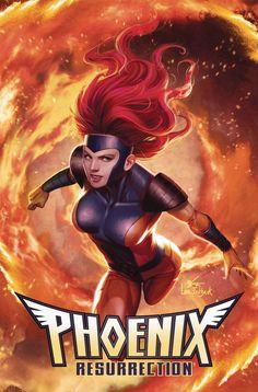 Phoenix Resurrection Return Of Jean Grey 4 Marvel 2017 NM In-Hyuk Lee Variant 90s