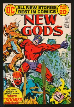 Kirby Covers - kirbycovers:  New Gods #10 (Sep. 1972)