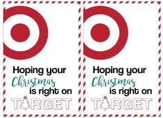 Target Christmas Gift Card Holders {Teachers, Friends, Neighbors} - Paper Trail Design