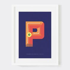 Karnataka India Letter P, $19.50, now featured on Fab.