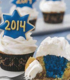 Surprise Inside Commencement Cupcakes