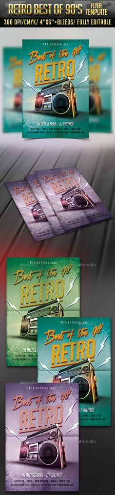 Best of the 90's — Photoshop PSD #concert #indieground • Available here →…