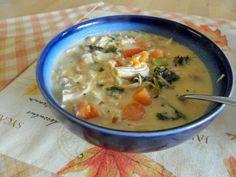 Homemaking on the Homestead: Creamy Chicken Veggie Soup