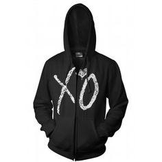 XO The Weeknd Zip Up Hoodie