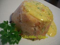 Sformato di patate e salmone affumicato in salsa di scalogno - ForchettinaGolosa