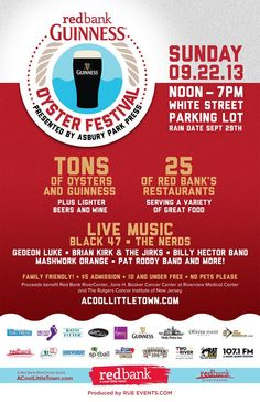 Red Bank Oyster Festival! #redbank #oyster