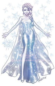 Disney - Elsa by Robaato on deviantART