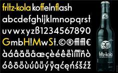 Einfach aus dem Logo entwickeln: Für die Gestaltung von Headlines reicht meist ein Zeichenumfang von 100 Zeichen aus: das große und das kleine Alphabet, Ziffern, Interpunktions-Zeichen und ausgewählte Sonderzeichen, wie das @-Zeichen und das €-Zeichen.