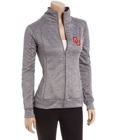 Love this Oklahoma Sooners Slim Fit Track Jacket - Women on #zulily! #zulilyfinds