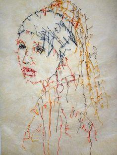fiber art, art textile contemporain