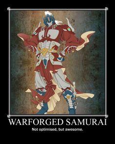 Warforged Samurai posted by Diego Havoc