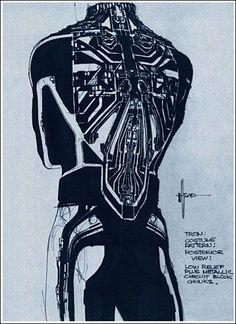 """futurnow: """" Moebius Sketchbook for Tron """""""