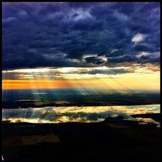 Morning Reflections - Last Mountain Lake, #Saskatchewan. Instagram by @rodneyalbert.