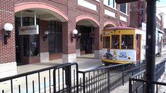 Tampa Bay HART TECO Line Gomaco Replica Birney Trolley 436 Car Arriving ...