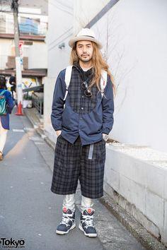 Spinns Harajuku Director in Plaid Kiddil Fashion, Stussy, Sailors & Flud