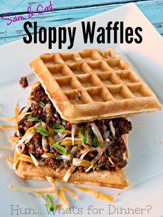 Hun... What's for Dinner?: Sam & Cat Sloppy Waffles