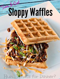 ❤️Sloppy Waffles❤️